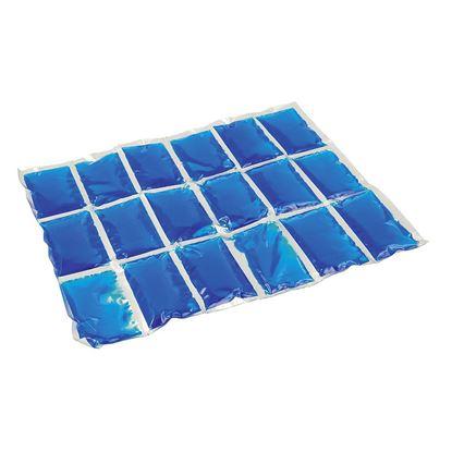 Flexi Freez hladilni vložki,  Velikost M, 19,5 cm x 1,8 cm x 24,0 cm