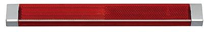 LED odbojno steklo R 250 rdeče barve