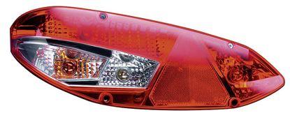 Smerokazi-zavorne-zadnje-dodatne zadnje-vzvratne-trikotne luči-odbojna stekla L 3000