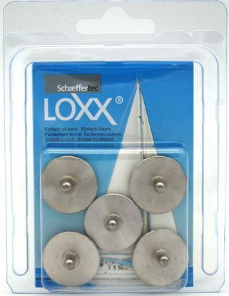 Loxx okrogla plošča 24 mm
