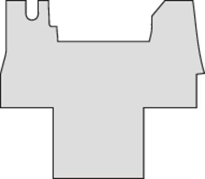 Gumijast predpražnik, antracit za Renault Master šasije od 07/2014