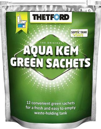 Aqua Kem Green Sachets vrečke za ponovno polnjenje vsebina 12 kosov