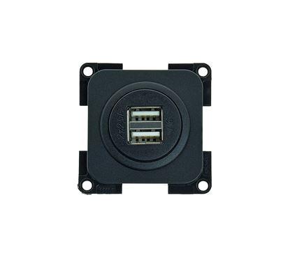 USB-dvojna vtičnica za polnjenje 12 V