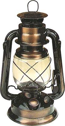 Antična hlevska laterna v bakreni optiki 25 cm