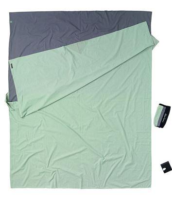 Lahka dvojna potovalna spalna vreča