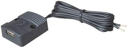 Power USB vtičnica, ploska, 12 - 24 V