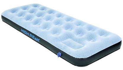 Napihljiva postelja Comfort Plus siva / modra