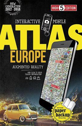 Atlas zemljevidov Mobile Atlas Europe