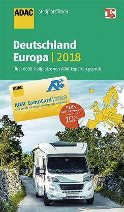 Vodnik po postajališčih za avtodome ADAC Nemčija / Evropa 2018