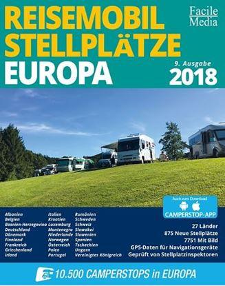 Postajališča za avtodome Evropa 2018