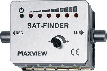 Iskalnik sat-signala z LED-prikazom