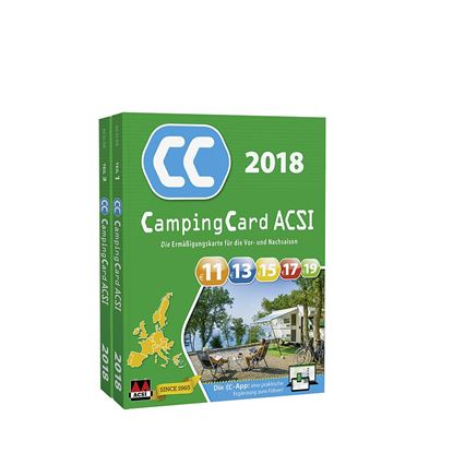 CampingCard-vodnik 2018