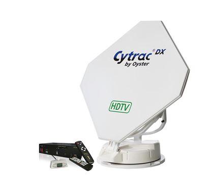 Avtomatska satelitska naprava Cytrac DX HDTV vklj. s HD-sprejemnikom 'Europe'