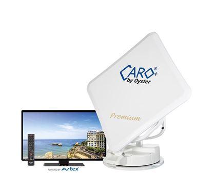 Avtomatska satelitska naprava Caro+ Premium vklj. z Oyster TV