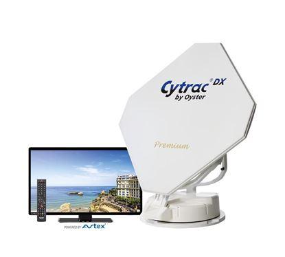 Avtomatska satelitska naprava Cytrac DX Premium vklj. z Oyster TV