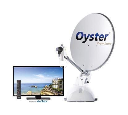 Avtomatska satelitska naprava Oyster 65 Premium vklj. z Oyster-TV
