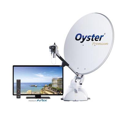 Avtomatska satelitska naprava Oyster 85 Premium vklj. z Oyster-TV