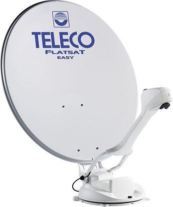 Avtomatska DVB-S2 satelitska antena s stenskim upravljalnim panelom,  Flatsat Skew Easy Smart 85 Twin