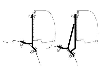 Adapter Ford Custom,  2 del.