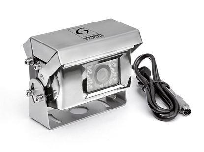 Kamera za vzvratno vožnjo z motorično  kamero z zapiranjem
