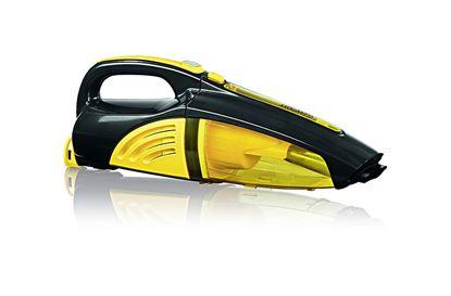 Ročni sesalnik, akumulatorski, 2 v 1, barva rumena/črna