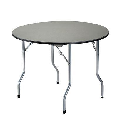 Miza za kampiranje okrogla