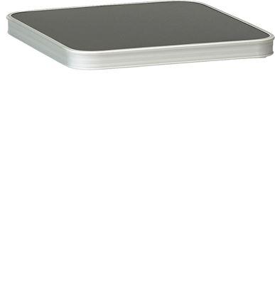 Mizna plošča za stolček temno siva