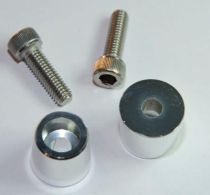 Adapter za pol akumulatorja okrogli,  M8