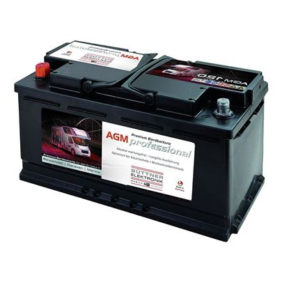 Krovni, oskrbovalni akumulator AGM 120 Ah (K100)