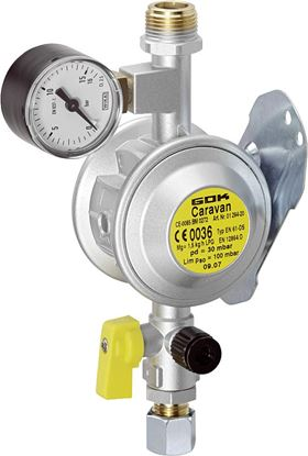 Regulator za plin tip EN61-DS PS 30 mbar 1,5 kg/h M 20 x 1,5 x RVS 8