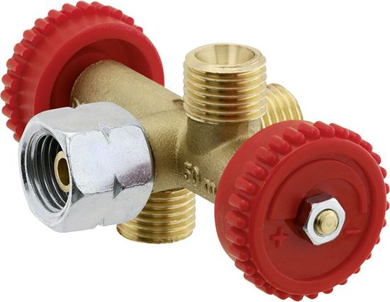Razvodni ventil G 1/4 LH-ÜM x G 1/4 LH-KN