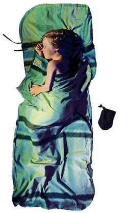 Lahka otroška spalna vreča 180 x 76 cm African Rainbow bombaž/flanela