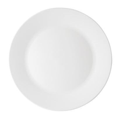 Desertni krožnik Elegant bel