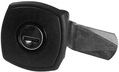Ključavnica za lopute, kvadratna z zaščito pred krožnim vrtenjem