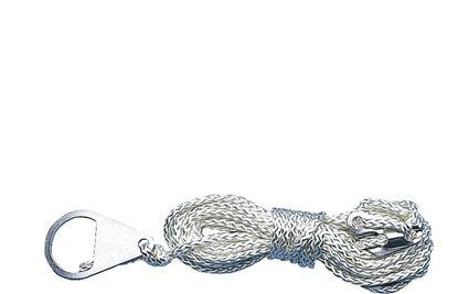 Šotorska vrv z nateznikom s 3 luknjami,  Ø 2,5 mm, dolžina 4 m