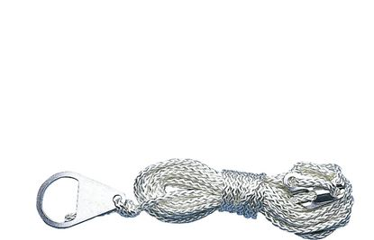 Šotorska vrv z nateznikom s 3 luknjami,  Ø 4 mm, dolžina 4 m