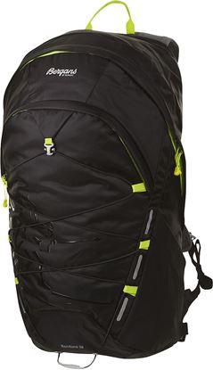 Nahrbtnik Rondane 26 l,  Black/Neon Green