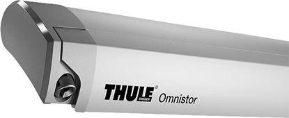 Strešna tenda Thule Omnistor 9200 z motorjem, srebrna, barva platna Mystic Grey