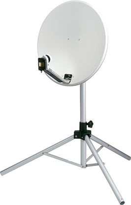 Prenosni komplet za satelitske naprave