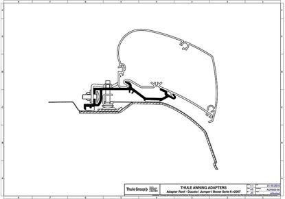 Adapter za Omnistor serije 6 Ducato, Jumper, Boxer od 2007