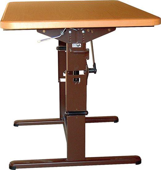 Ogrodje dvižne mize, enostavno nastavljivo po višini, antracit