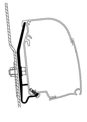 Picture of Adapter kit 2-delni za strešno tendo Omnistor 4900 Westfalia