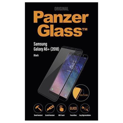 Picture of ZAŠČITNO STEKLO ZA MOBILNI TELEFON PANZER GLASS SAMSUNG GALAXY A6+ 2018 BLACK