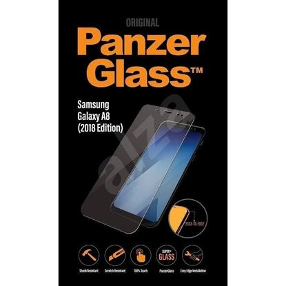 Picture of ZAŠČITNO STEKLO ZA MOBILNI TELEFON PANZER GLASS SAMSUNG GALAXY A8 2018 CLEAR